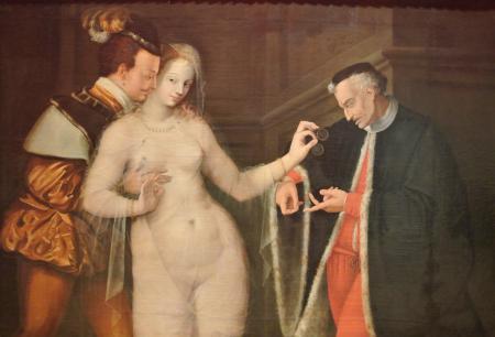 Anonyme français, La Femme entre deux âges (1575)