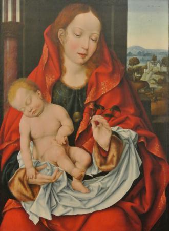 Joos Van Cleve, Vierge à l'Enfant (1518-22)