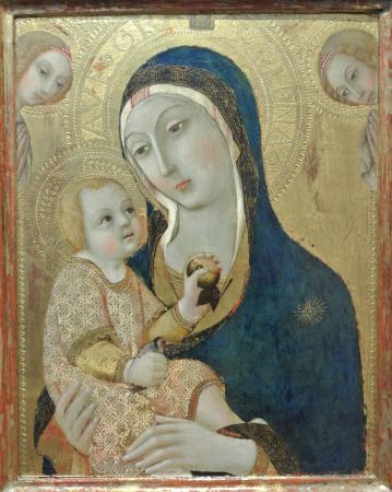 Sano di Pietro (1406-1484), Vierge à l'Enfant