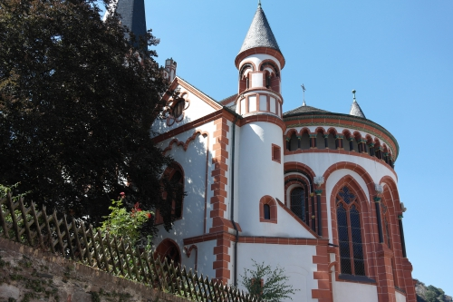 frédéric tison,photographie,église saint-pierre de bacharach,bacharach