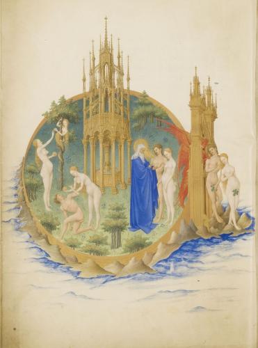 frédéric tison,la librairie de jean de berry au château de mehun-sur-yèvre,1416