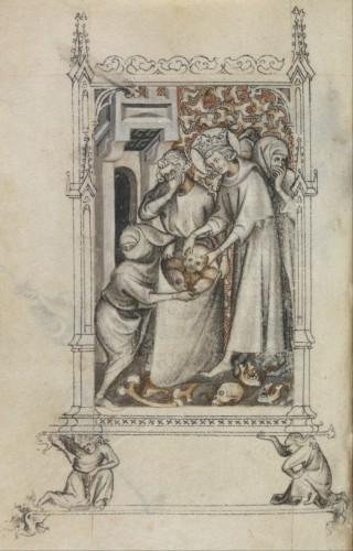frédéric tison, la librairie de jean de berry au château de mehun-sur-yèvre, 1416