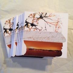 danielle berthet,frédéric tison,livre d'artiste,lettre à la nuit,collection apostilles