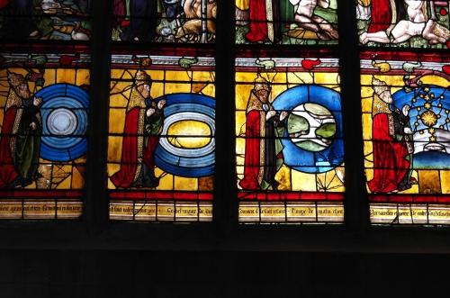 frédéric tison, photographie, église saint-pantaléon, troyes,la création du monde,vitrail