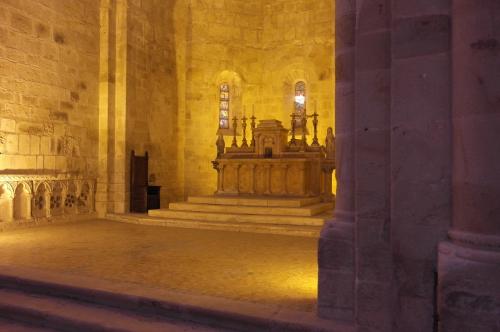 frédéric tison,photographie,abbaye sainte-marie de fontfroide,église abbatiale