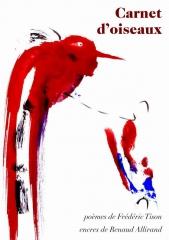 frédéric tison,renaud allirand,carnet d'oiseaux,poème,encre