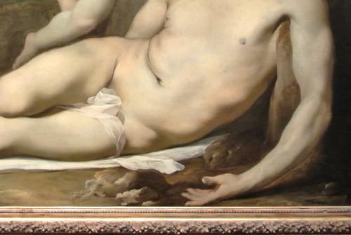 frédéric tison,photographie,lubin baugin,le christ mort pleuré par deux anges,détail