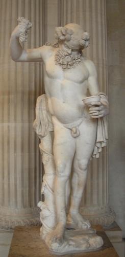 Silène ivre - IIe s ap. J.-C. - marbre de Paros - Louvre - 1.jpg