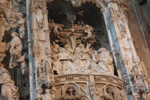 frédéric tison,photographie,Atelier de Loys van Boghem, Retable des Sept Joies de la Vierge,monastère de brou,église saint-nicolas-du-tolentin