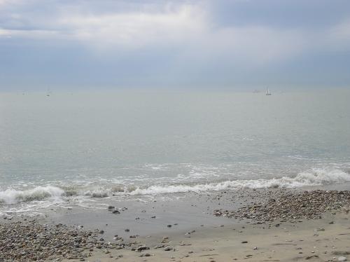Le Havre - La plage et les bateaux - avril 2008 (25).JPG