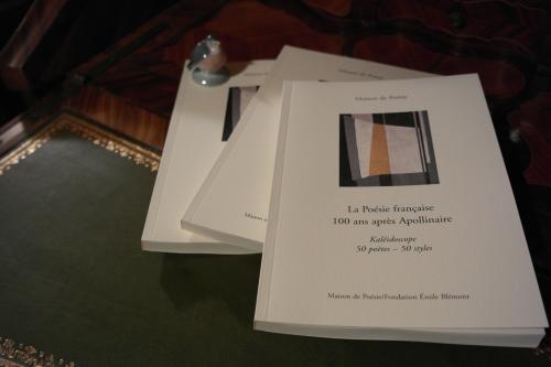 la poésie française 100 ans après apollinaire,maison de poésie,fondation émile blémont