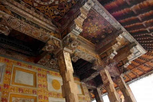 frédéric tison, photographie, temple de la dent, temple de la dent sacrée du bouddha,plafond