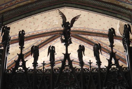 frédéric tison,photographie,cathédrale saint-michel de carcassonne,ange,orgue