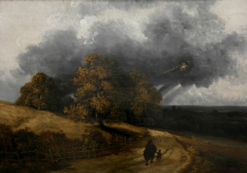 frédéric tison,photographie,georges michel,l'orage