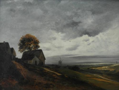 40. Paysage vers 1820-1830 - musée d'art de Karlsruhe - Bade-Wurtemberg - Allemagne.jpg