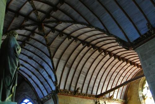 frédéric tison,photographie,l'église saint-germain-l'auxerrois,pleyben,voûte,croisée du transept
