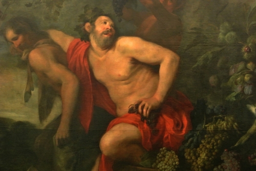 Jan Roos détail 1 1591-1638, La Vendange de Silène, Palazzo Bianco, Gênes.jpg