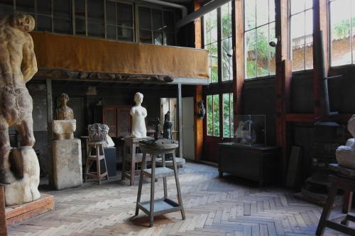 frédéric tison,photographie,atelier,émile-antoine bourdelle