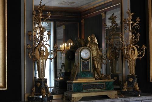 frédéric tison,photographie,château de malmaison,salon doré,miroir