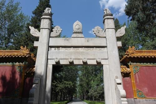frédéric tison, photographie, chine, tombeaux des ming, voie des esprits