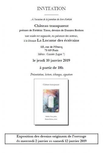 Soirée La Lucarne des écrivains - Invitation.JPG