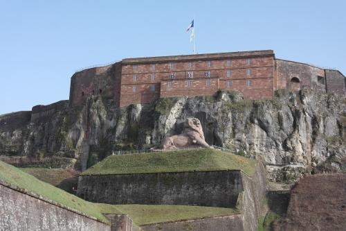 frédéric tison,photographie,château de belfort,lion de belfort,auguste bartholdi, belfort