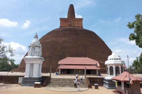 frédéric tison,photographie,anurâdhapura,stupa abhagiriya