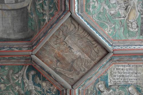 frédéric tison,photographie,château du plessis-bourré,plafond alchimique,vent,les quatre vents